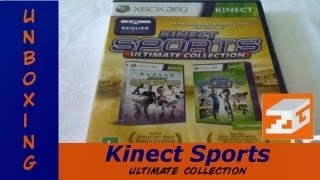 Unboxing (Craudião) | Kinect Sports Ultimate Collection (Xbox 360)