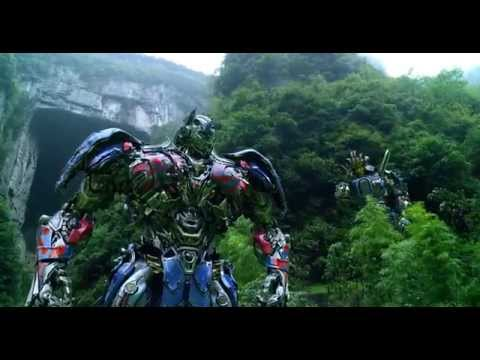 Transformers: Age of Extinction - Optimus Prime Speech/The Battle Begins/Dinobots Charge
