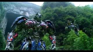 Transformers Age of Extinction - Optimus Prime SpeechThe Battle BeginsDinobots Charge