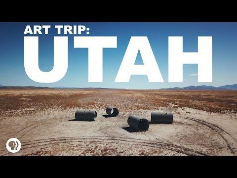 Spiral Jetty, Sun Tunnels, and Salt | The Art Assignment | PBS Digital Studios