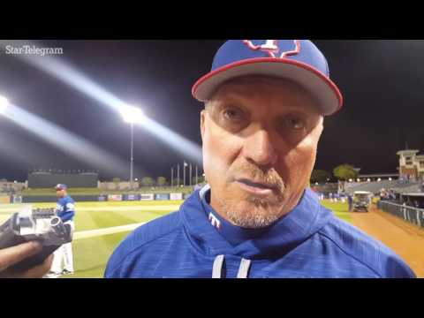 Jeff Banister on Dillon Gee's rough night Clayton Kershaw's dominance