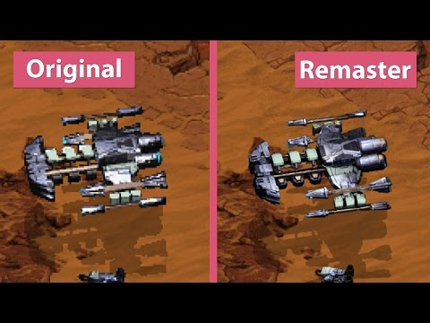 StarCraft – Original vs. Remastered Official Shots Graphics Comparison