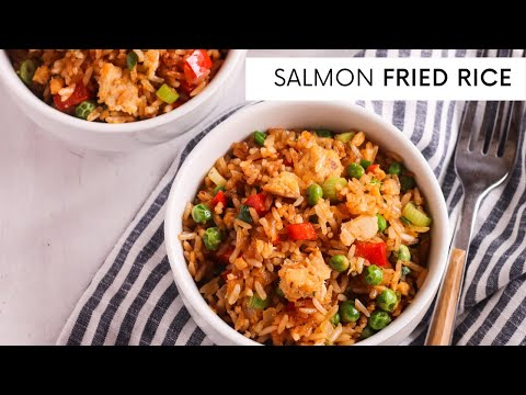 SALMON FRIED RICE | EASY RECIPE | 30 MINS OR LESS
