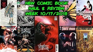 New Comic Book Haul And Review! Week 10/17/2018