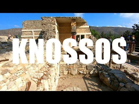 A Tour of the Ancient Greek Ruins of Knossos, Crete