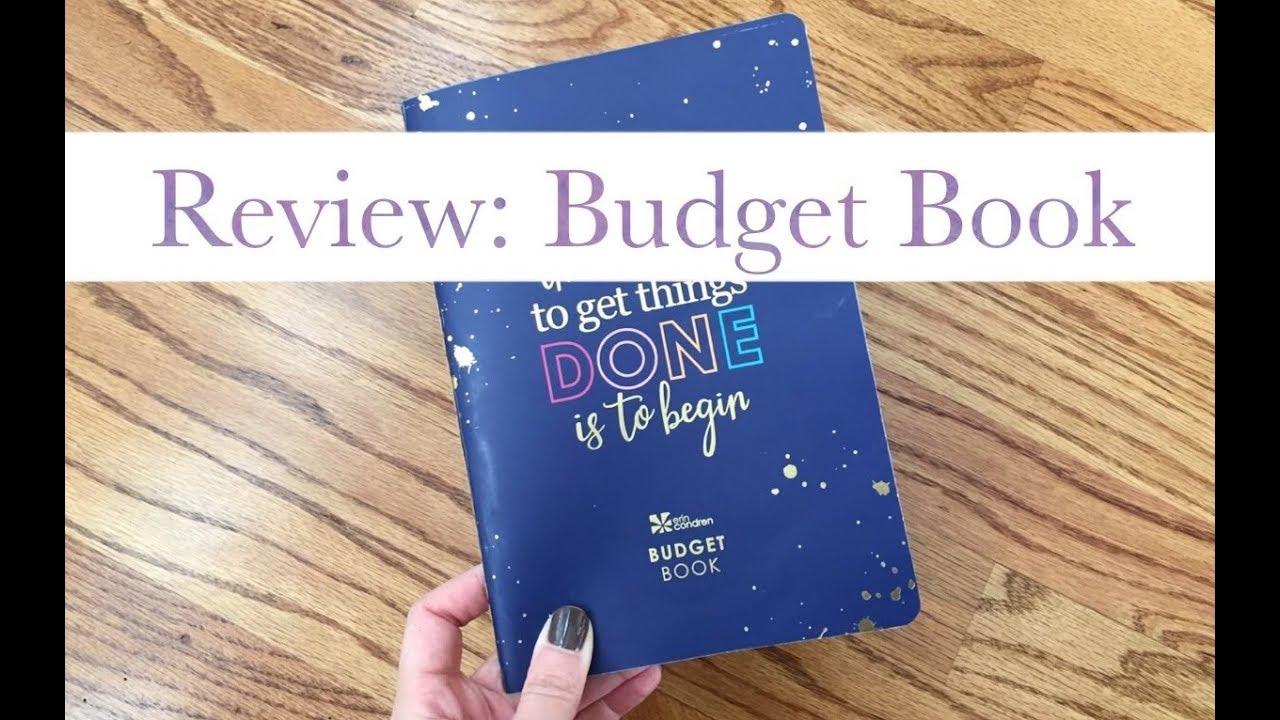 review erin condren petite planner budget book youtube