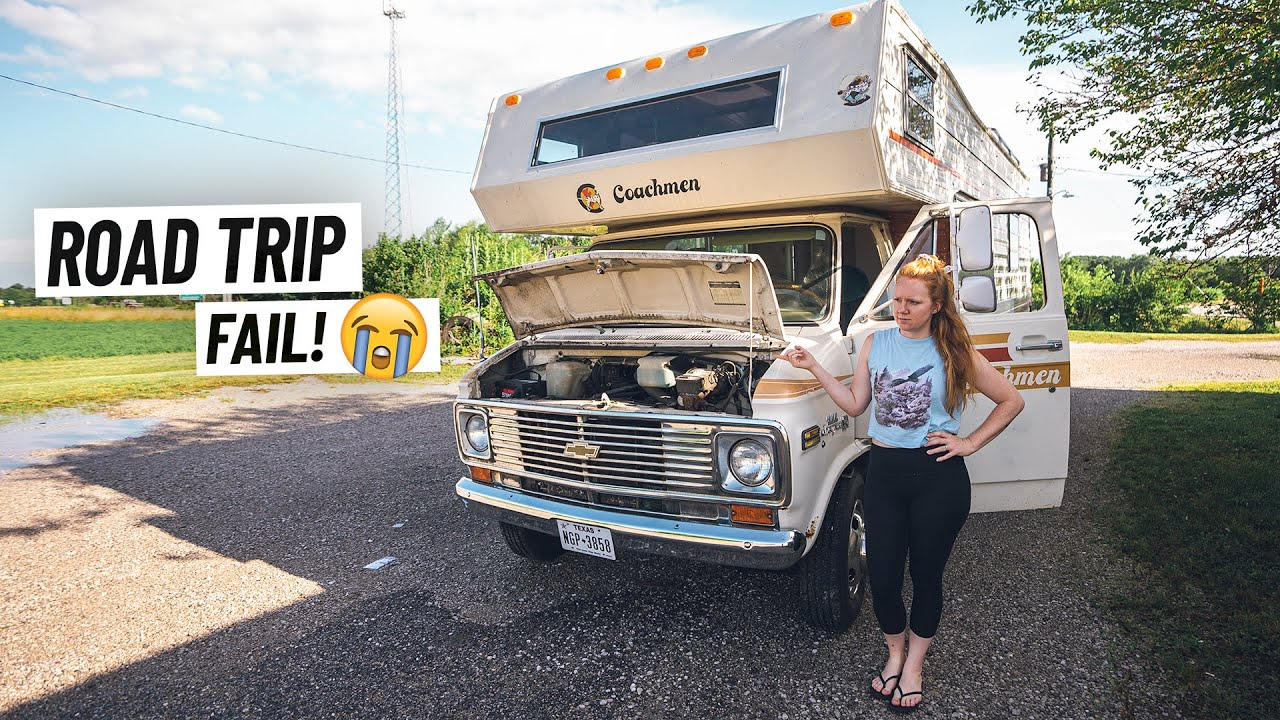 RV Road Trip to Chicago for ENGINE OVERHAUL! - Will We Make It??