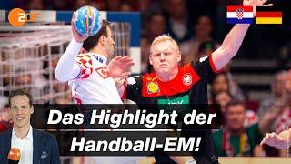 Das Highlight der EM! | Deutschland - Kroatien in der Analyse | Handball-EM 2020 - ZDF