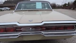 1966 ford thunderbird tan for sale at www coyoteclassics com