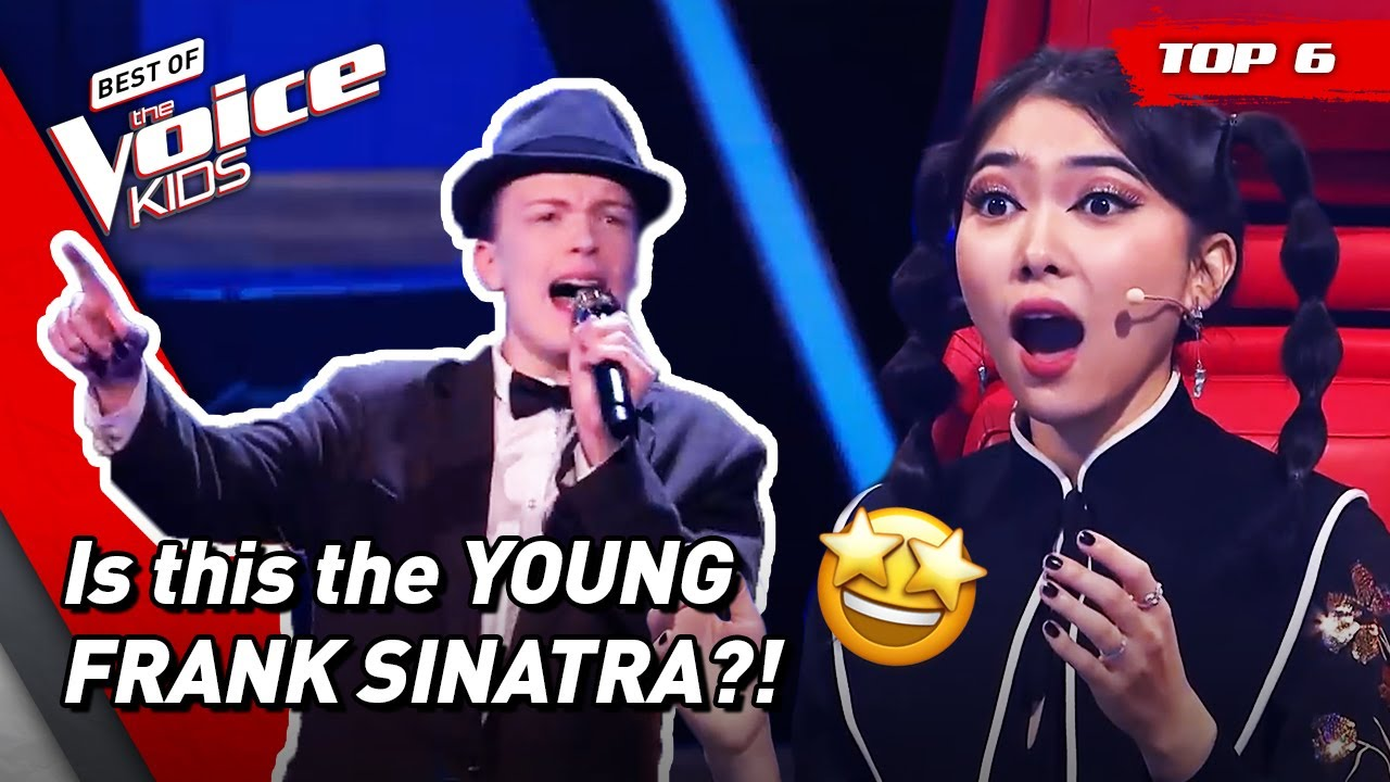 The most MAGNIFICENT covers of the LEGEND FRANK SINATRA 🤵 in The Voice Kids! | Top 6