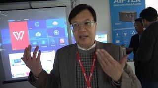Aiptek Pico Projectors: i70 (smallest), AN100 (smart), i120 (HDMI output) iBeamBlock (x86 stackable)