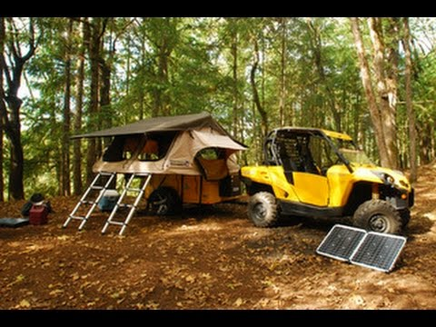 the 2015 journey xl solar powered tent trailer part 3. Black Bedroom Furniture Sets. Home Design Ideas