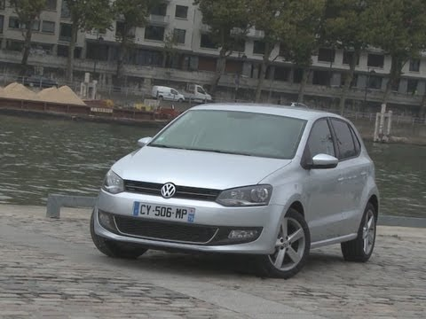 Essai Volkswagen Polo 1.6 TDi 90 DSG Sportline 2013