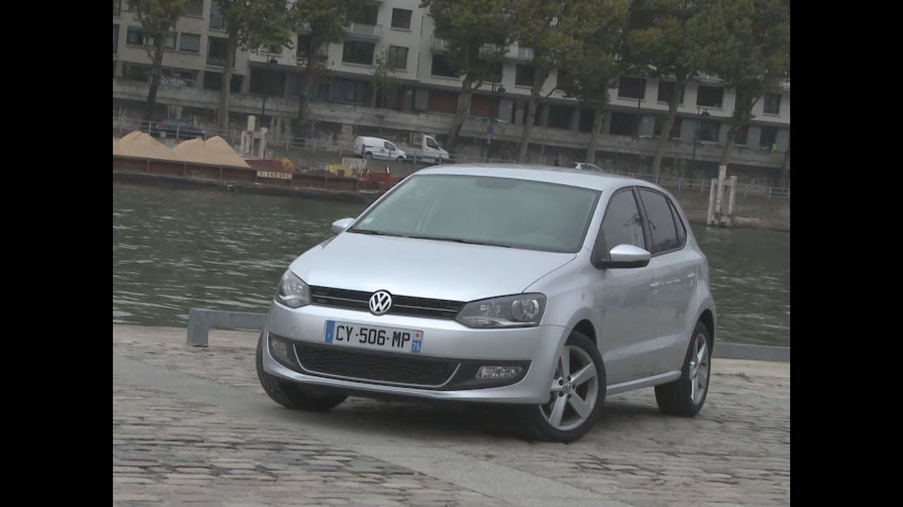 essai volkswagen polo 1 6 tdi 90 dsg sportline 2013 youtube. Black Bedroom Furniture Sets. Home Design Ideas