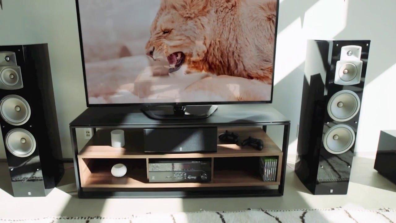 ampli home cin ma yamaha rx vx81 youtube. Black Bedroom Furniture Sets. Home Design Ideas