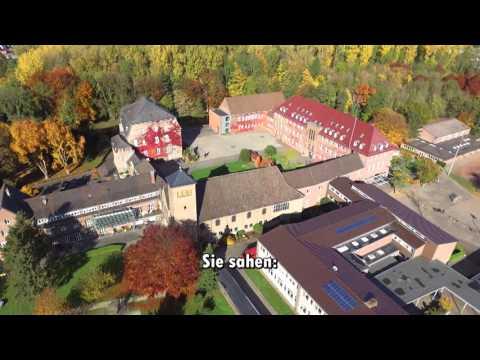 Haus Overbach aus der Luft