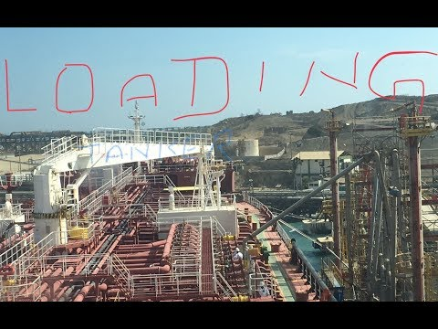 Loading/ Discharging a Ship ( Product tanker )