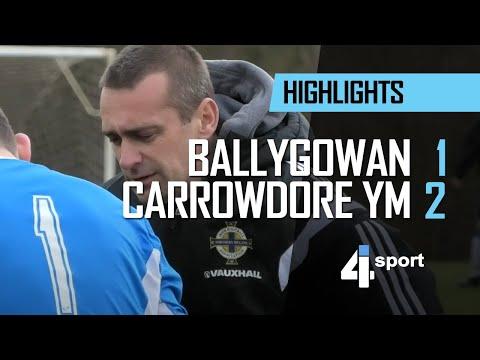 Ballygowan 1 - 2 Carrowdore YM - 16 Feb 19