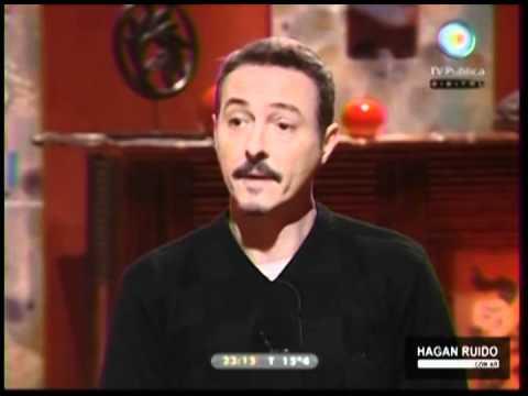 Pedro Aznar - programa Que fue de tu vida - entrevista Felipe Pigna