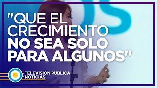"""Cristina Kirchner: """"Los ministros que no tienen coraje vayan a buscar otro laburo"""""""