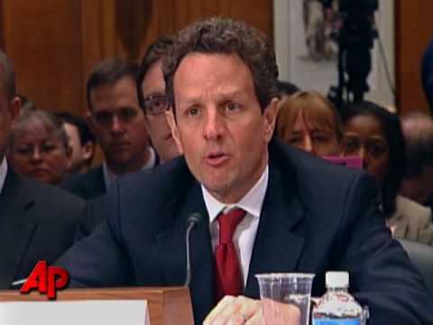 Geithner Defends Bank Rescue Program