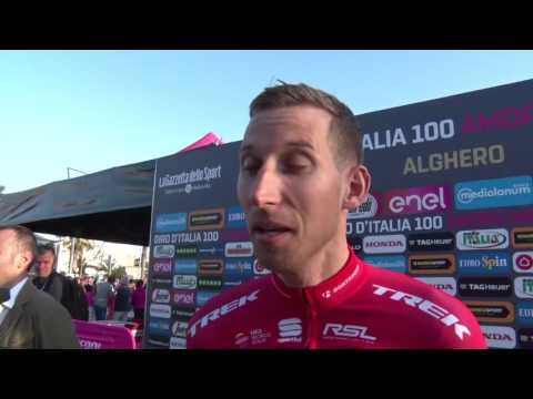 Bauke Mollema - Interview before the race - Tour of Italy / Giro d'Italia 2017
