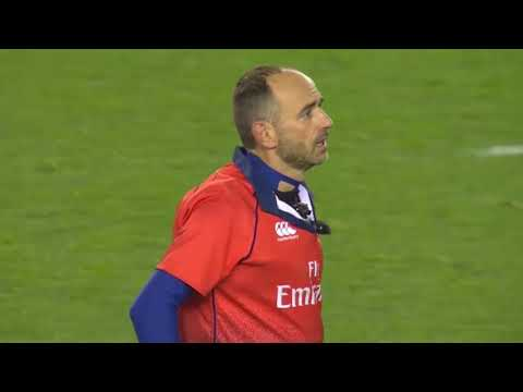 Romain Poite flabbergasts everyone by binning Le Roux. [Scotland vs South Africa '18]