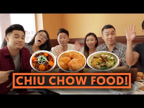 FUNG BROS FOOD: Chiu Chow Food (Teochew, Chaozhou)