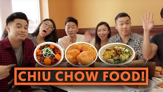 CHIU CHOW FOOD (Teochew, Chaozhou Homestyle) - Fung Bros Food
