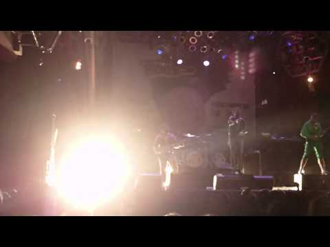 August Burns Red live INTRO + Composure + The Truth Of A Liar