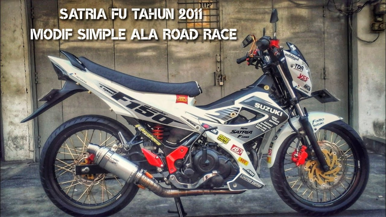 Modifikasi Simple Satria FU 150 Tahun 2011 by Rian Pradiptha Channel