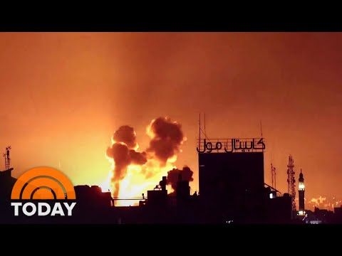 Israeli Forces Launch Air And Ground Attacks On Gaza