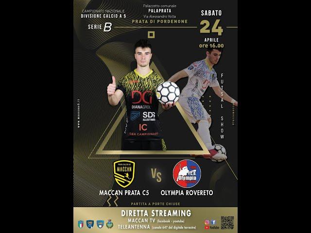 MACCAN PRATA vs OLIMPIA ROVERETO - 24 Aprile 2021
