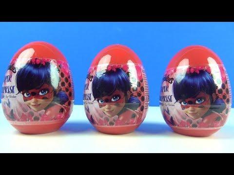 Mucize Ugur Bocegi Ile Kara Kedi 3 Surpriz Yumurta Oyuncaklari