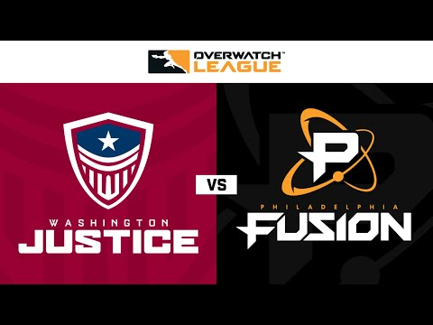 Philadelphia Fusion vs Washington Justice vod