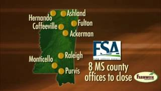 USDA to close 8 MS Farm Service Agency offices, Farmweek - March 2, 2012