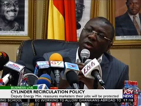 Insurance Sector - Business Live on JoyNews (20-12-17)