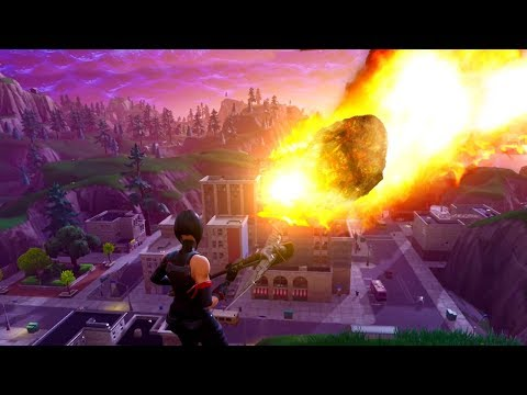 *NEW* METEOR DESTROYS TILTED TOWERS! (actual Gameplay) Fortnite: Battle Royale (No Clickbait!)