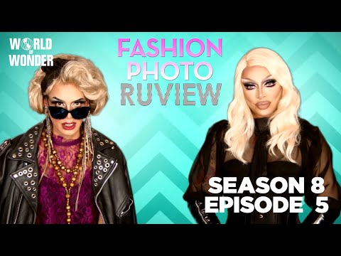 RuPaul's Drag Race Fashion Photo RuView w/ Raja and Raven Season 8 Episode 5 Supermodel Snatch Game