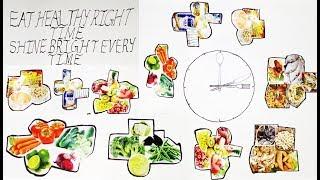 "Best Kids School Project for Healthy Week by ""MUAAVYA"" Mom"