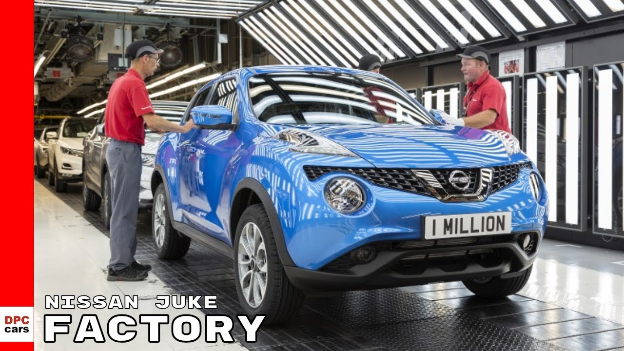 Where Is Nissan Made >> One Millionth Nissan Juke Built At Factory Youtube