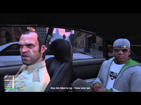 GTA V Conversations - Michael Hangs With Trevor and Franklin
