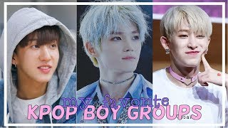 Baixar My Top 15 Favorite KPOP Boy Groups
