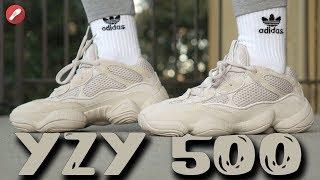 Adidas Desert Rat Yeezy 500 Blush First Look + On Feet!!