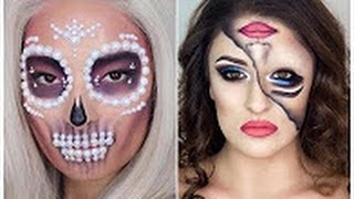 Top 10 DIY Halloween Makeup Tutorials Compilation 2016