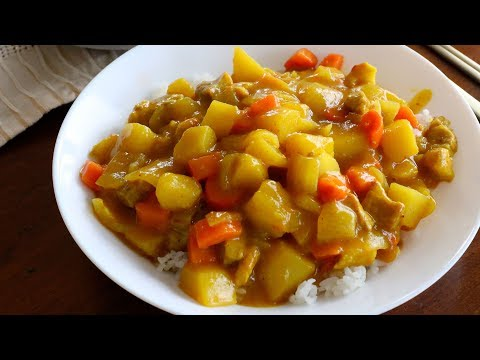 Korean style Curry Rice (Ka-re rice: 카레라이스)
