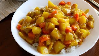 Korean-style Curry Rice (ka-re Rice: 카레라이스) English & Korean Captions