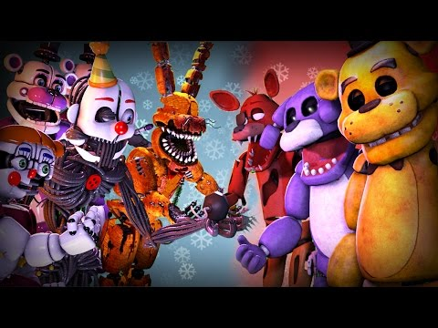 Ultimate FNAF FIGHT Animation Movie: Five Nights at Freddys VS Animation