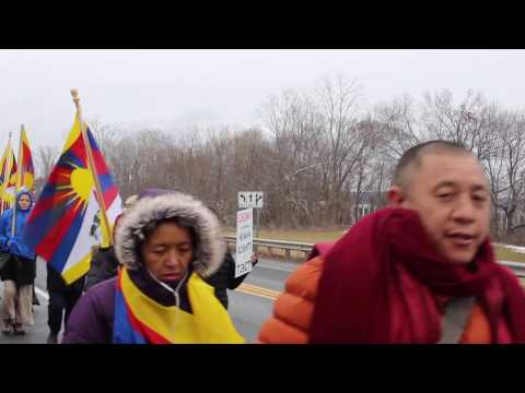 The March 10th, Tibetans at Amherst, MA