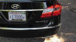 Quick Clips 2012 Hyundai Genesis 5.0 R Spec